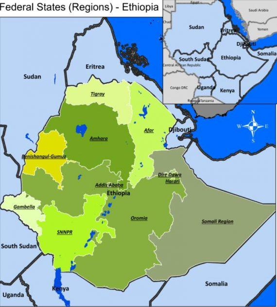 Administrative division of Ethiopia