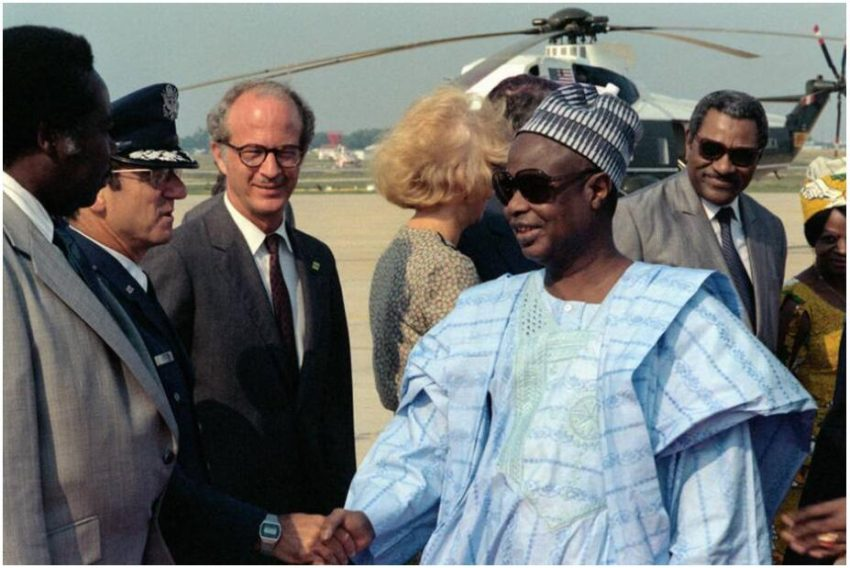 Ahmadou Ahidjo, President of Cameroon from 1960-1982