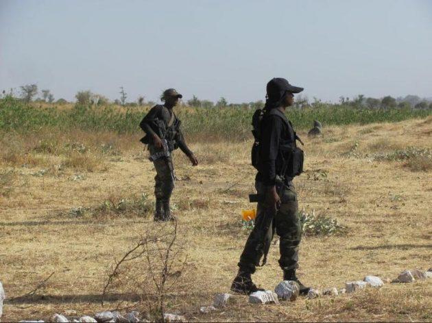 Brigade d'intervention rapide (BIR) in action