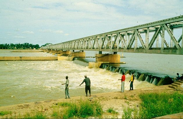 During the construction of the Markala Dam