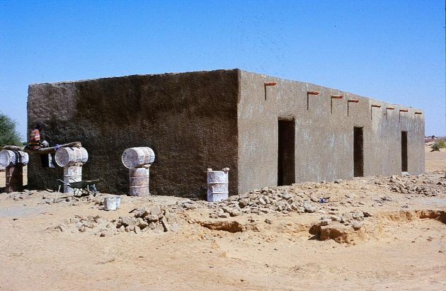 Elementary school under construction