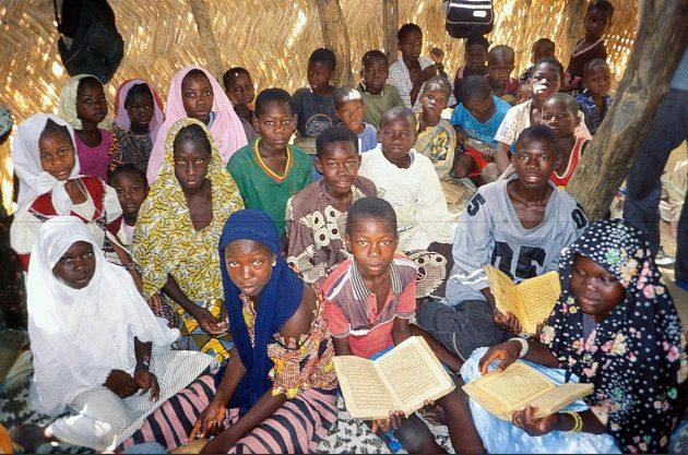 Koran school in Mali