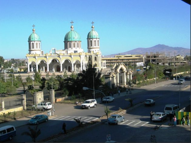 Medhanealem Church in Addis Ababa