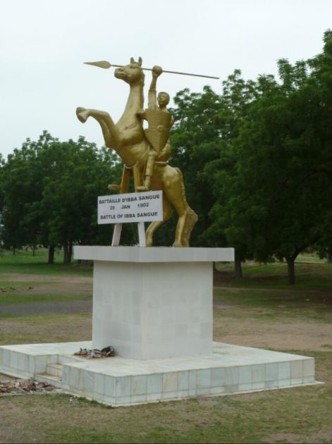 Memory of a massacre by the German protection force in 1902 near Maroua
