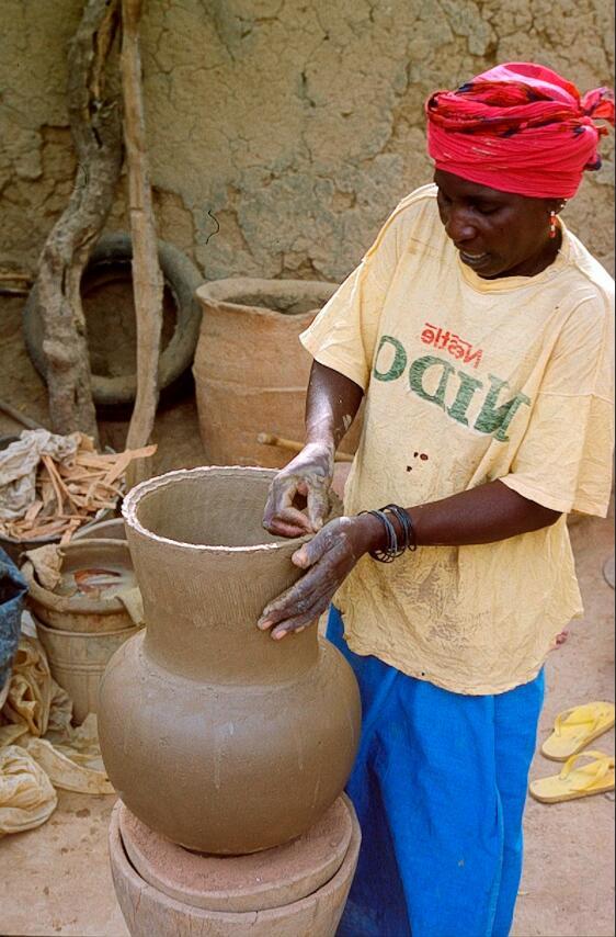 Pottery in Mali
