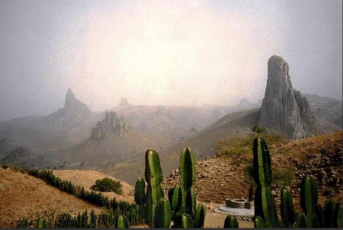 Rhumsiki, dry season