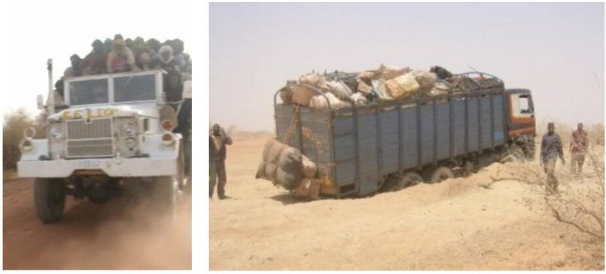 Road conditions are sometimes catastrophic in large parts of Mali
