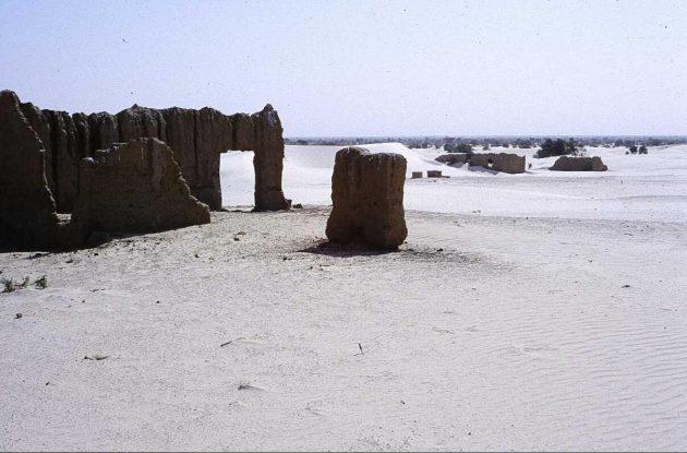 Ruins in Ras el Ma, Timbuktu region