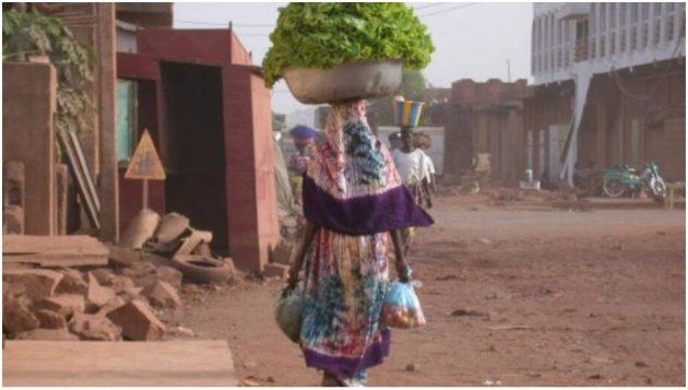 Street scene in Bamako Mali