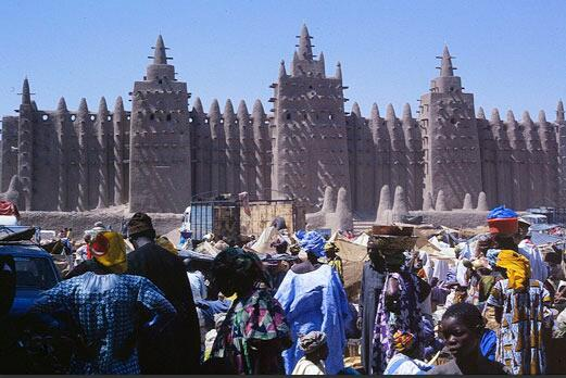 The Great Mosque in Mali