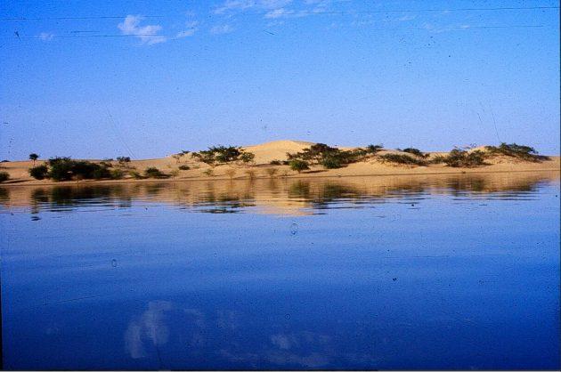 The Niger near Timbuktu