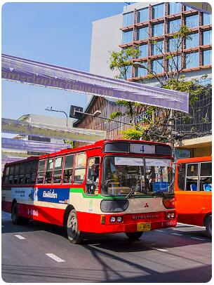 Travelers to Bangkok