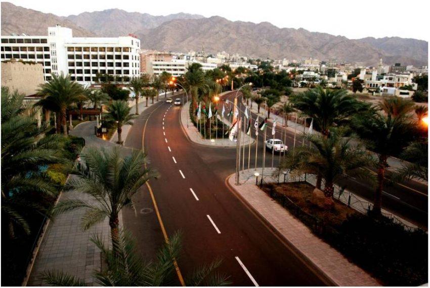 Aqaba, urban center of southern Jordan