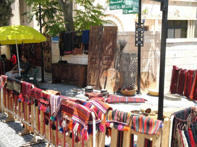 Jordan Handicrafts in the Souk Jara in Amman