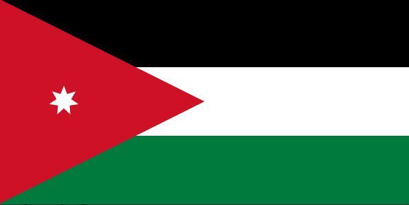 Jordan's national flag