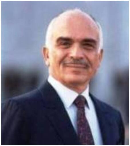 Portrait of King Hussein