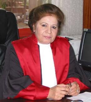 The Jordanian judge Taghrid Hikmet