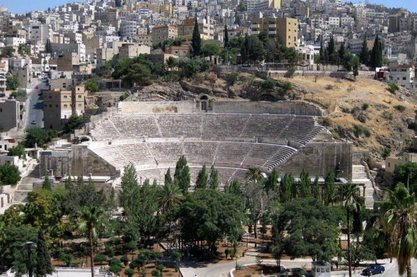 The Roman Theater in Amman