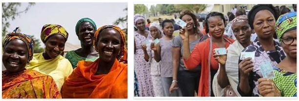 People in Nigeria