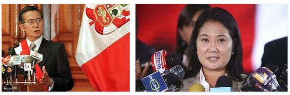 Peru History - Fujimori Regime and New Constitution