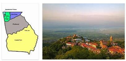 Regions in Georgia